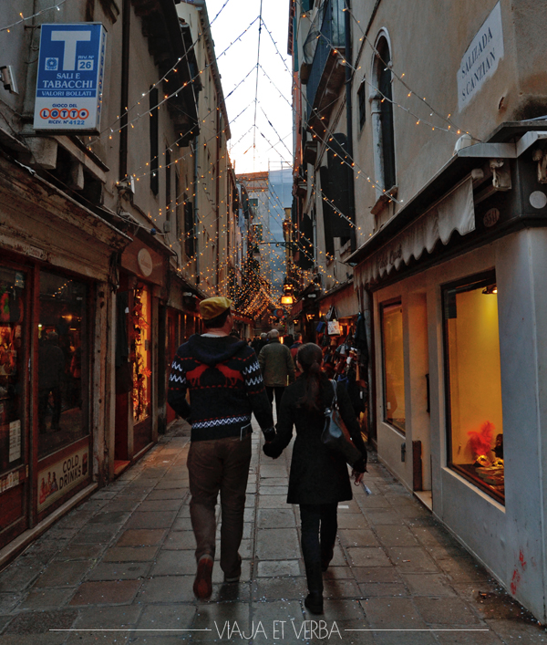 Paseo en Venecia.Viajaetverba