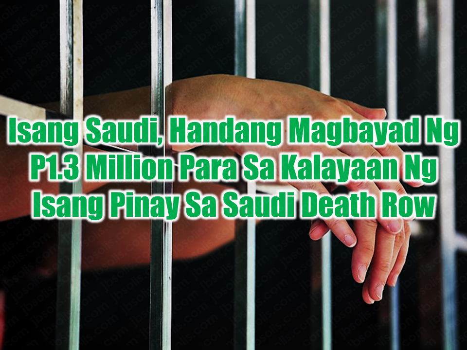 "A Saudi citizen is ready to pay SAR100,000 (P1.3 million) penalty for the release of an  Overseas Filipino Worker  (OFW) who is in Jeddah jail. The said amount is needed for her to be repatriated back to the Philippines.  A man named Abdulaziz Khamees as reported by  GMA News Online, said in the presence of Consul RJ Sumague of the Philippine Consulate in Jeddah,  that he is willing to give the said amount to free Junevie San Juan. San Juan was arrested on October 9, 2013, just days after her arrival in the Kingdom to work as dental assistant.  The drug possession case had made Junevie to face three years jail term. However, San Juan denied the allegation, firmly insists that she was a victim of a drug smuggling syndicate with operations in Saudi Arabia and the Philippines.  Sponsored Links    Consul RJ Sumague earlier announced that Junevie could be freed from jail after she had served her sentence, but she still need to pay SAR100,000 for her to be finally released.  Abdulaziz  Khamees after talking to her parents last December parents while they were in Jeddah, believed that Junevie is a victim. Khamees then promised to pay  the required amount for Junevie's release.   Consul Sumague is very grateful for Abdulaziz for his help without asking for any favor in return.  Abdulaziz, who can speak fluent Tagalog, said ""Walang problema po tutulugan ko kayo huwag kayo mag-alala,"" referring to Junevie's parents. Source: GMA News     Read More:  What Is Assumption Of Mortgage And How To Avail From SSS    Things You Need to Know About Senior Citizen's Benefits   Body Of Household Worker Found Inside A Freezer In Kuwait; Confirmed Filipina  Senate Approves Bill For Free OFW Handbook    Overseas Filipinos In Qatar Losing Jobs Amid Diplomatic Crisis—DOLE How To Get Philippine International Driving Permit (PIDP)    DFA To Temporarily Suspend One-Day Processing For Authentication Of Documents (Red Ribbon)    SSS Monthly Pension Calculator Based On Monthly Donation    What You Need to Know For A Successful Housing Loan Application    What is Certificate of Good Conduct Which is Required By Employers In the UAE and HOW To Get It?    OWWA Programs And Benefits, Other Concerns Explained By DA Arnel Ignacio And Admin Hans Cacdac     SUBSCRIBE TO OUR YOUTUBE CHANNEL   ©2018 THOUGHTSKOTO  www.jbsolis.com"