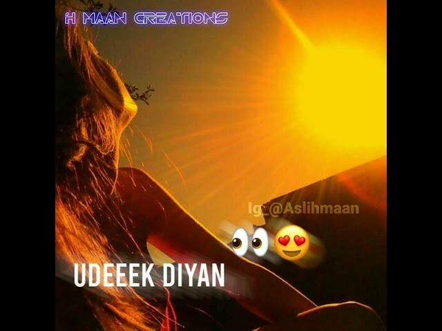 Akhiyan Udeek Diyan Dil Vaajan Marda Whatsapp Status Video Download | New Sad Remix Status Video Hindi 2020
