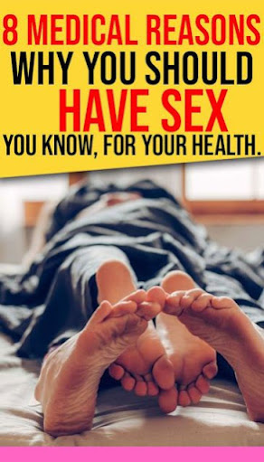 10 medical reasons why you should have sex. You know, for your health.