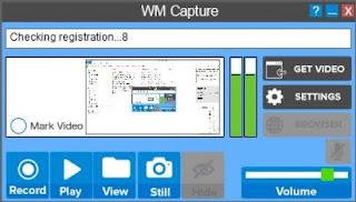 aplikasi perekam layar laptop WM Capture
