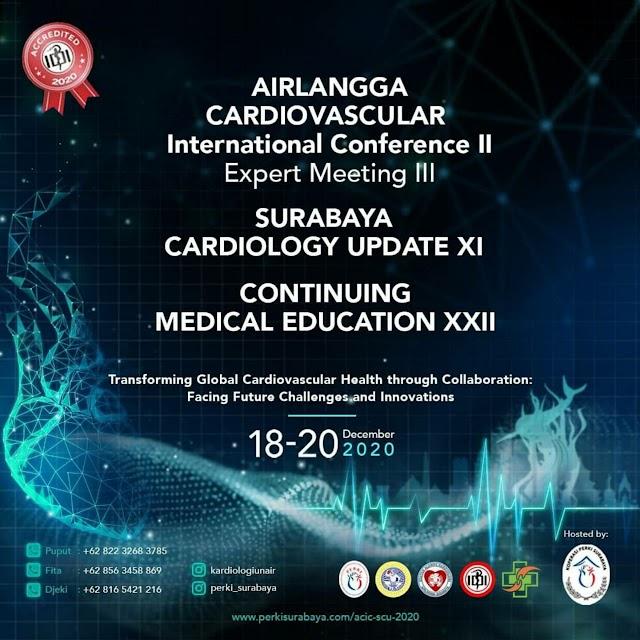 Surabaya Cardiology Update (SCU) 2020 9 SKP IDI untuk Symposium dan  3 SKP/Workshop