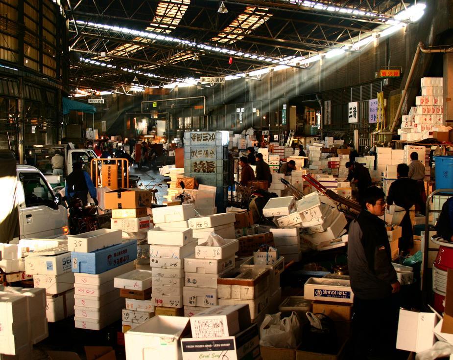 Ilustrasi impor barang dari Jepang