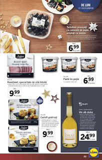CATALOG LIDL 10 - 16 decembrie 2018 delicatese Craciun Deluxe 2018