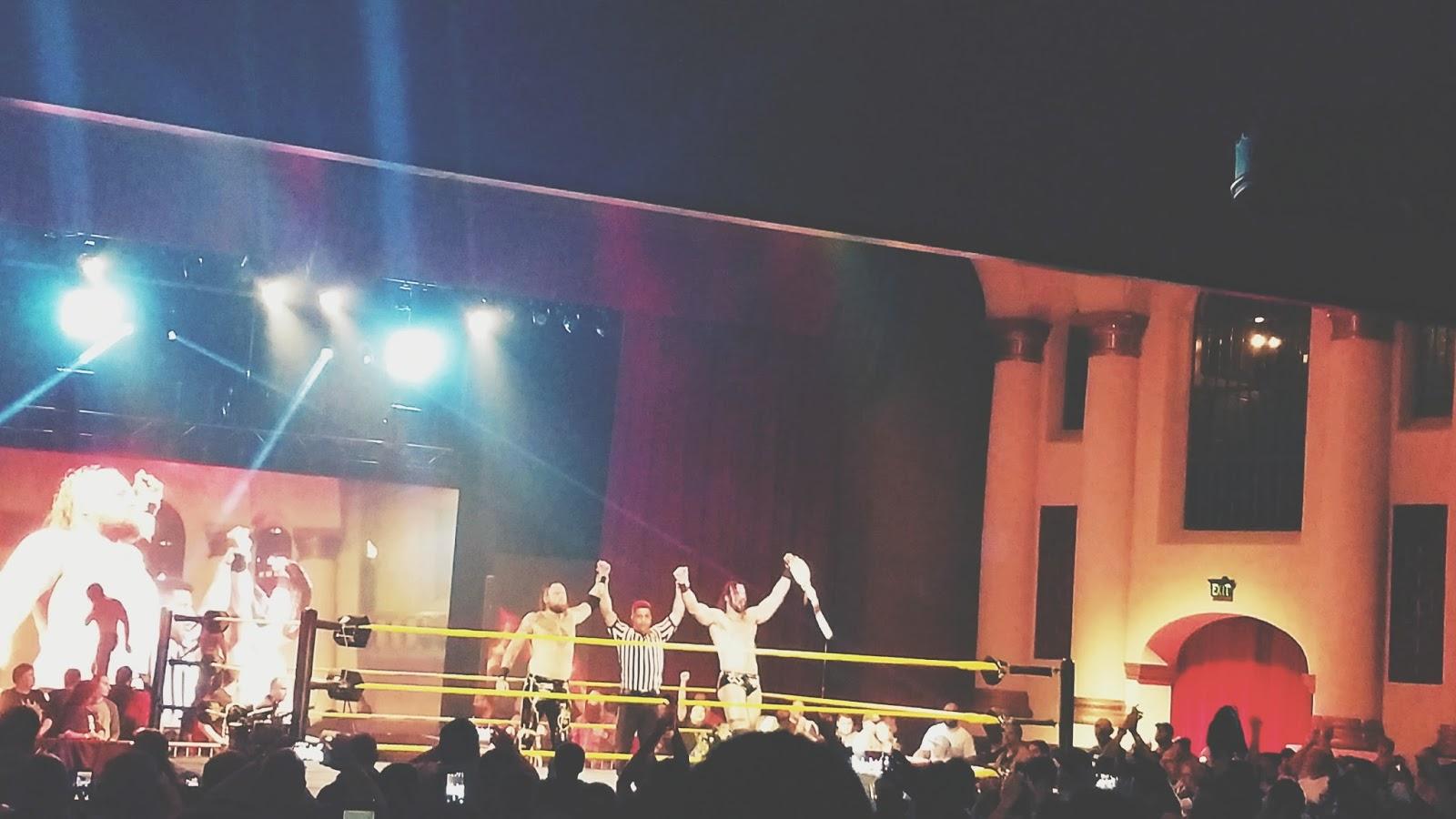 Courtney Tomesch NXT Live Riverside CA