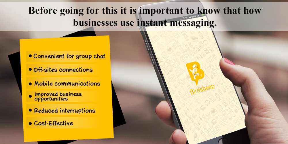 Use Instant Messaging