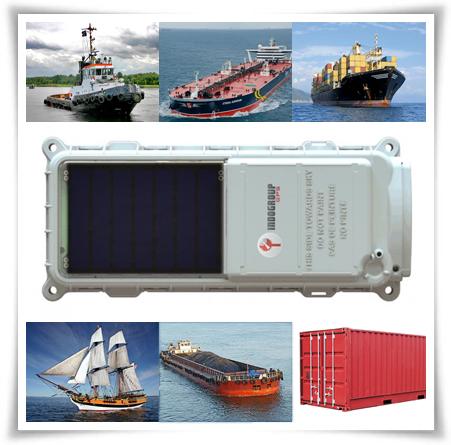 GPS tracking kapal laut tug boat LCT cargo satellite tracker