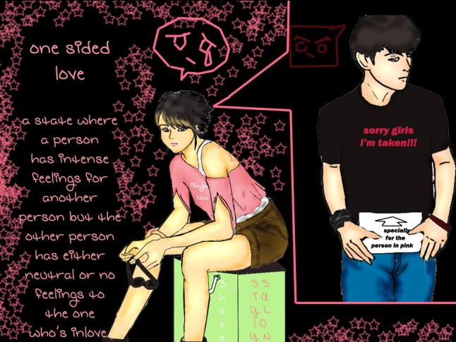One Side Love Pic: A Brat With Opinions: Lovey Dovey Tuesday: Foreveralone Post
