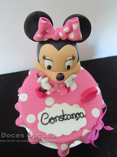disney minnie party cake