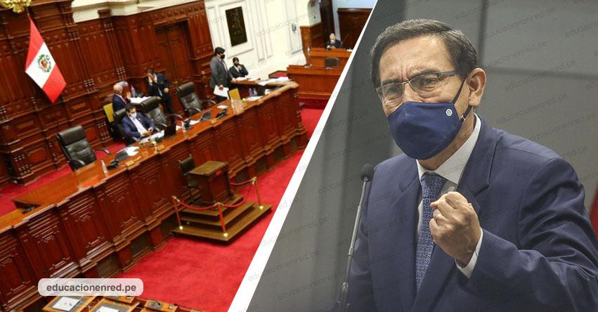CONGRESO DE LA REPÚBLICA: Archivan pedido de vacancia contra el presidente Martín Vizcarra