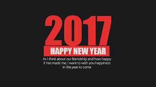 happy new  year 2017 sms quotes
