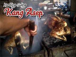 kambing Guling enak di Lembang