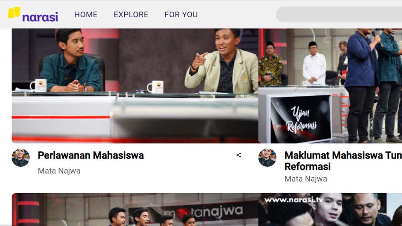 Narasi TV Milik Najwa Shihab Sedang Buka Loker Dengan Banyak Posisi yang Dibutuhkan