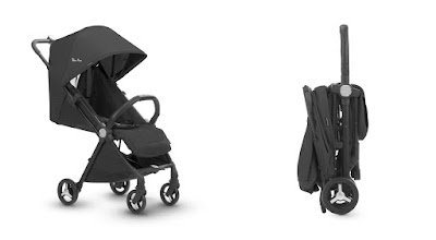 the Silver Cross Jet travel stroller, 2 different configurations, Kidsland