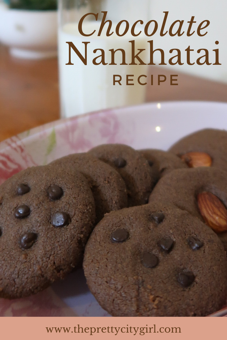 eggless chocolate nankhatai recipe