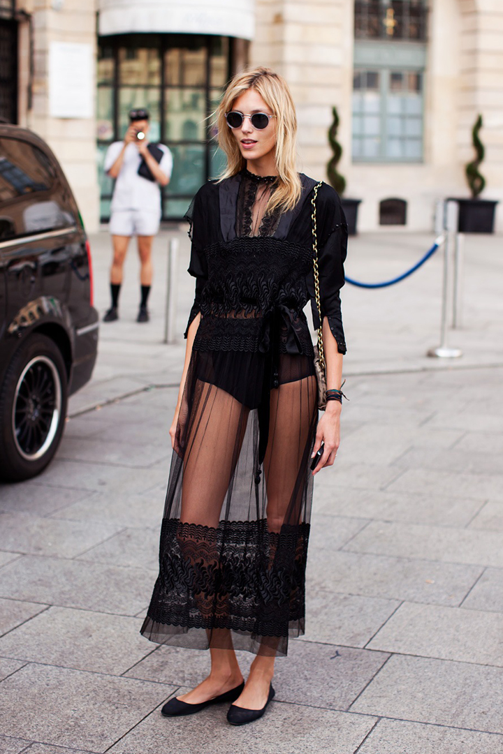 Lingerie as Street Style: How to Wear It