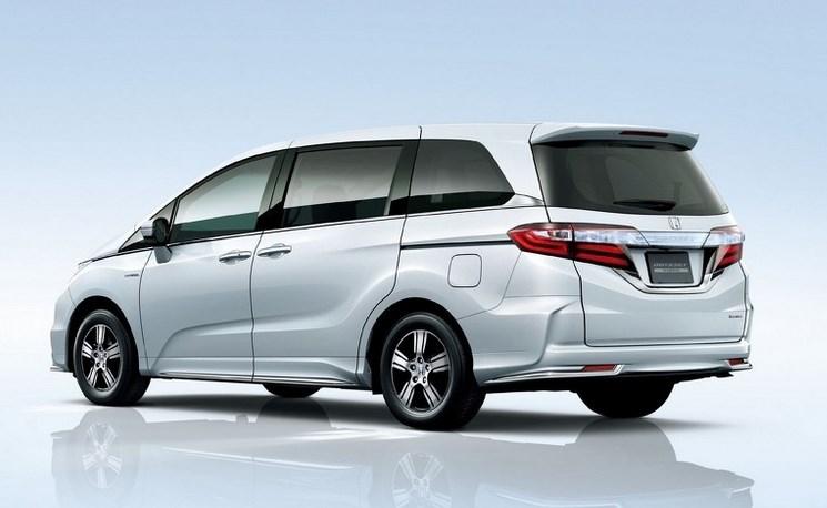 New Honda Odyssey Hybrid Revolution Minivan Toyota Asia