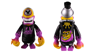 Plastic Empire Exclusive Mad Spraycan Mutant Madness Edition Vinyl Figure by MAD x Martian Toys