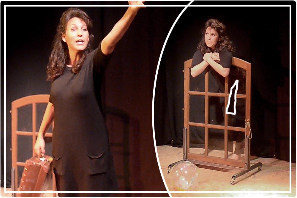 voyage virtuel de l'amour Va et vient Théâtre Paris La croisée des chemins
