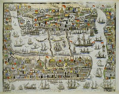 eski istanbul haritaları 1