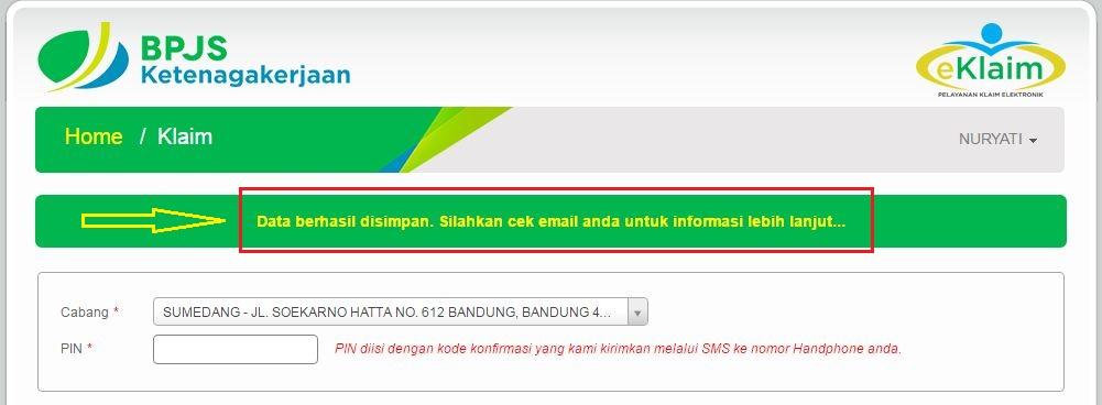Panduan E Klaim Jht Bpjs Ketenagakerjaan Online 2016 2017