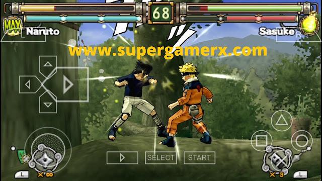 Naruto ultimate ninja 70 MB psp Highly Compressed ISO File