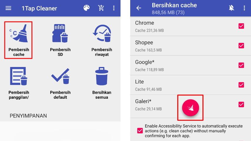 Hapus Cache di Xiaomi dengan Aplikasi Tambahan