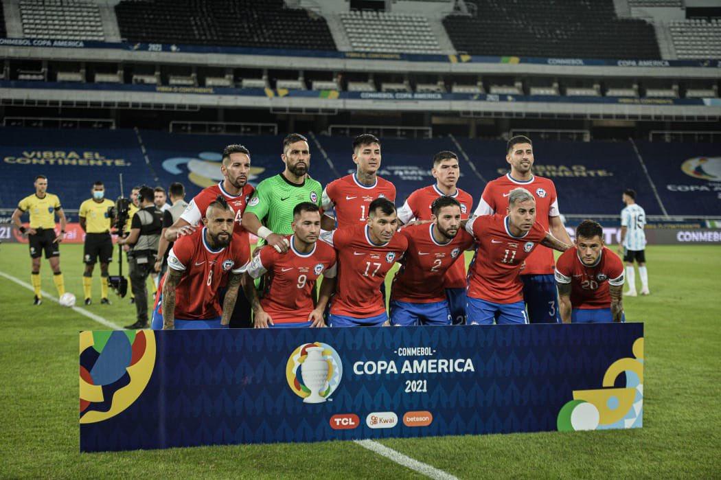 Formación de Chile ante Argentina, Copa América 2021, 14 de junio