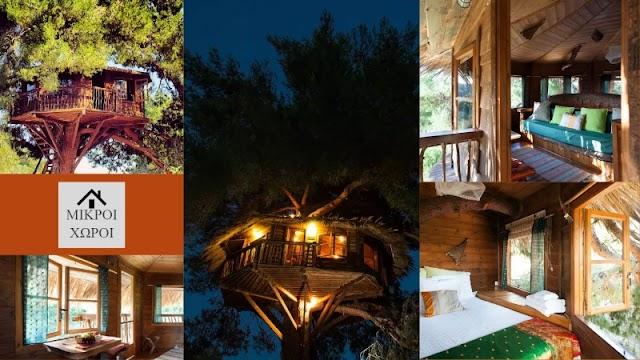 Ένα από τα ομορφότερα airbnb δεντρόσπιτα βρίσκεται στην Ηλεία