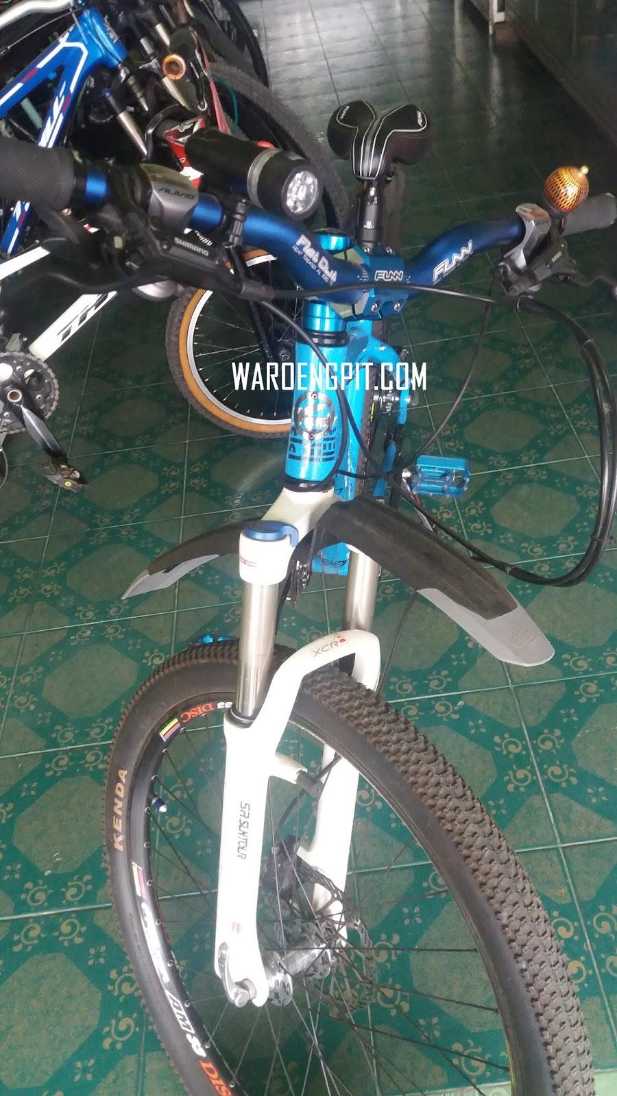 Jual Sepeda Bekas Comencal Biru
