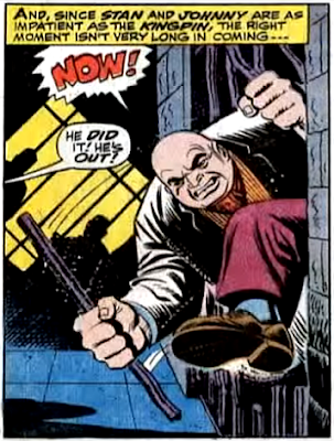 Amazing Spider-Man #70, john romita, jim mooney, using his massive strength, the kingpin escapes from his police cell
