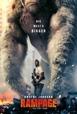 Póster película Rampage - 2018