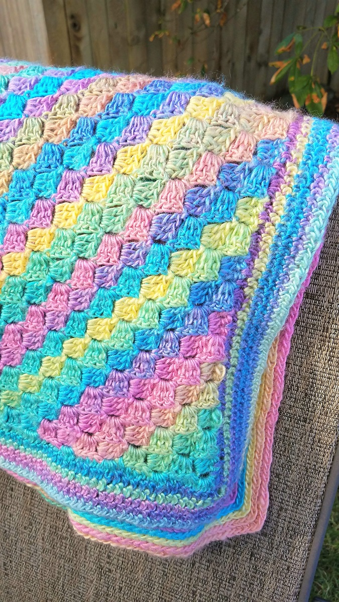 Clever, Crafty, Cookin\' Mama: Corner to Corner Crochet - Blanket
