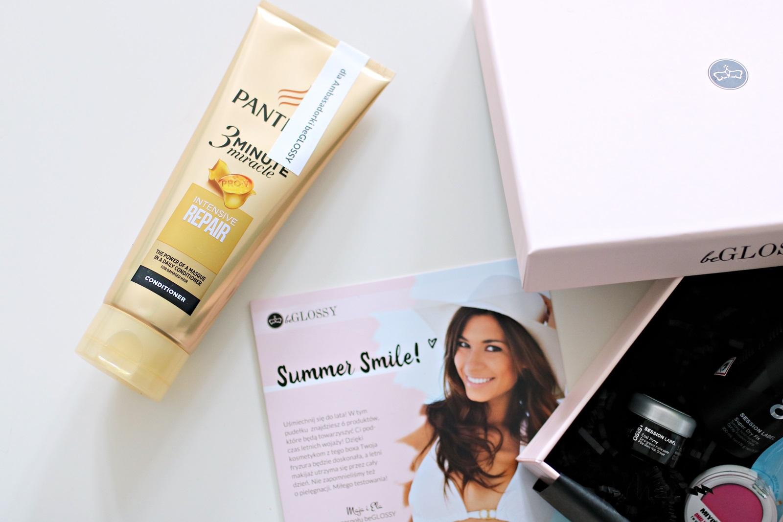 beGLOSSY Summer Smile {przegląd pudełka siepień 2017} - PANTENE