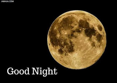 Good Night Images with moon