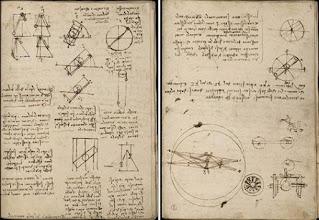 Leonardo's notebook