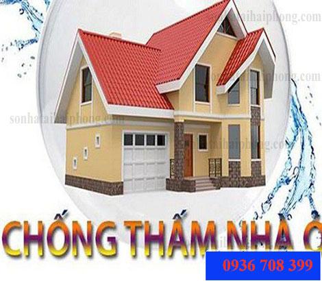 Chống thấm tường nhà tại Hải Phòng, thợ giỏi thi công nhanh, đáp ứng được yêu cầu của khách hàng