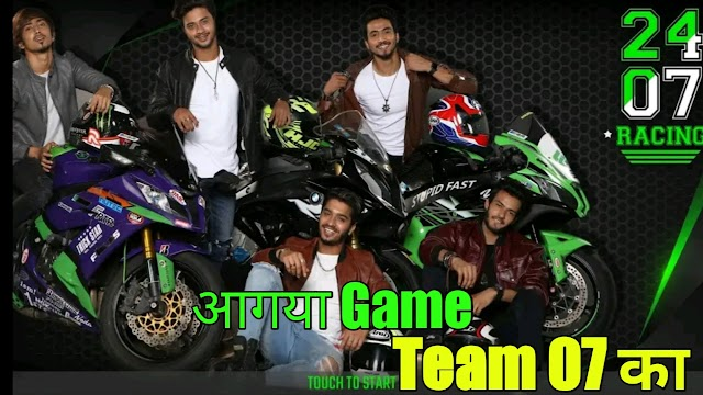 2407 Racing Game Download Team 07 Game Launch