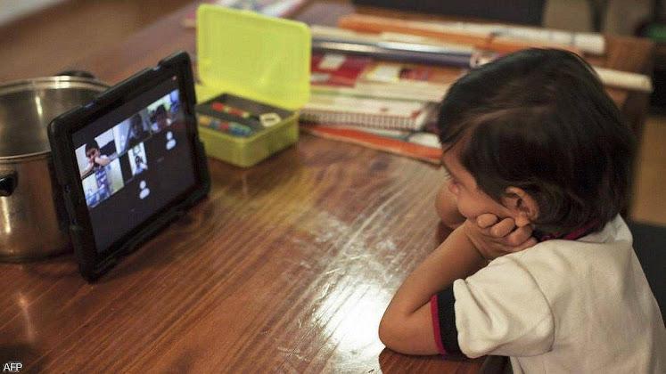 As crianças tiveram perdas educativas mensuráveis com o tele-ensino