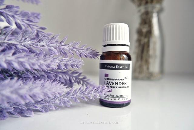 Review Natuna Essential Oil Lavender