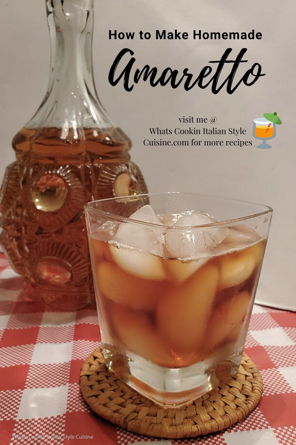this is a pin for late on how to make Amaretto Liquor