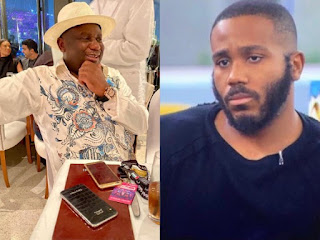 #BBNaija2020: BBNaija Show Is Not Meant For Only Poor People - Kiddwaya's Father, Terry Waya (VIDEO)