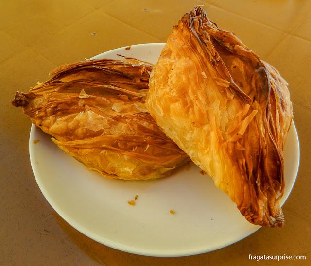 Pastizzi, petisco típico de Malta