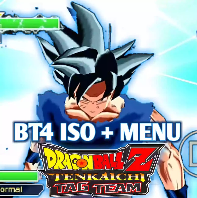 PSP DBZ TTT MOD BT4 ISO With Menu, New Characters And Attacks