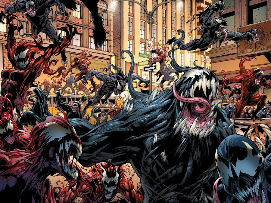 mighty avengers venom virus outbreak brian michael bendis mark bagley