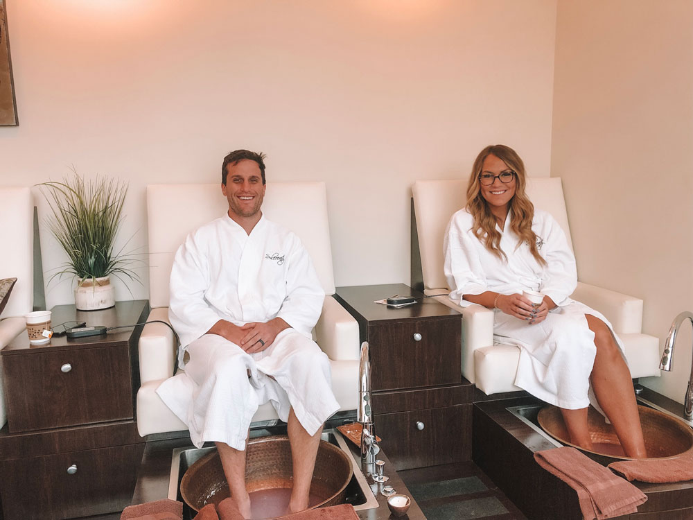 Sole Mate's Journey spa treatment at Sole'renity Spa