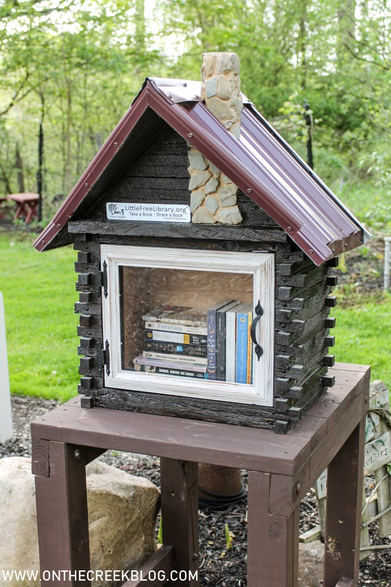 We built a custom Little Free Library® | On The Creek Blog