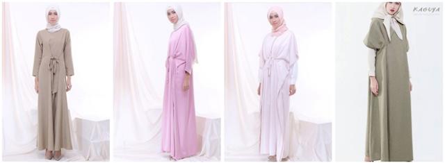 gambar desain baju muslim ria miranda terbaru