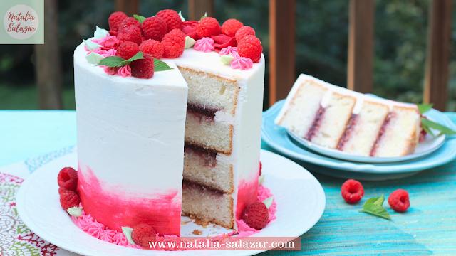Torta de frambuesa receta