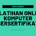 Pelatihan Online Komputer Bersertifikat